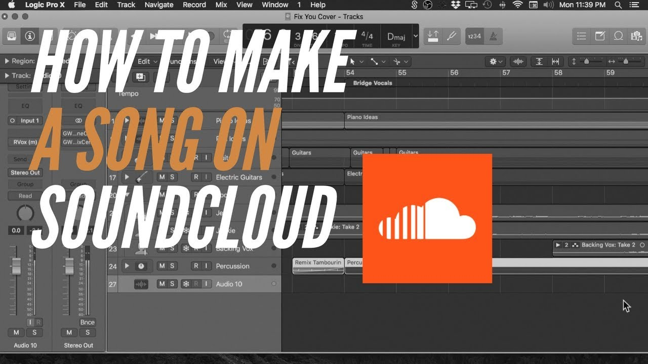 what you need soundcloud