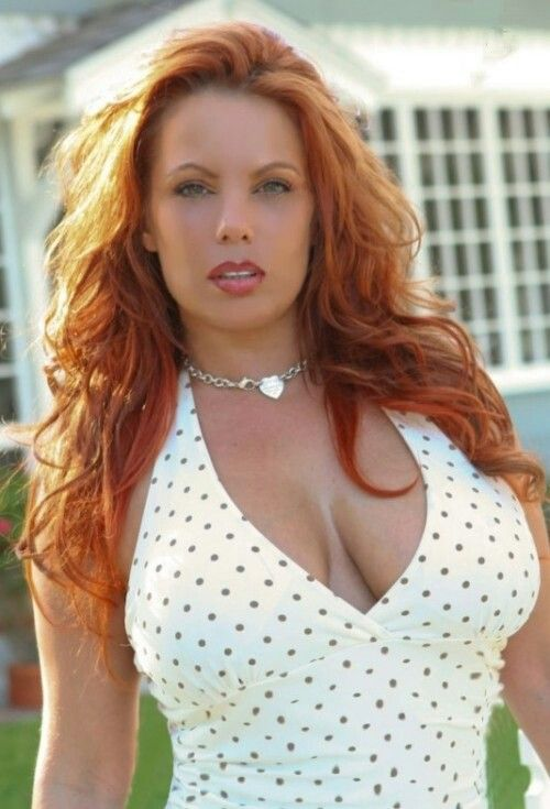 gorgeous busty redheads
